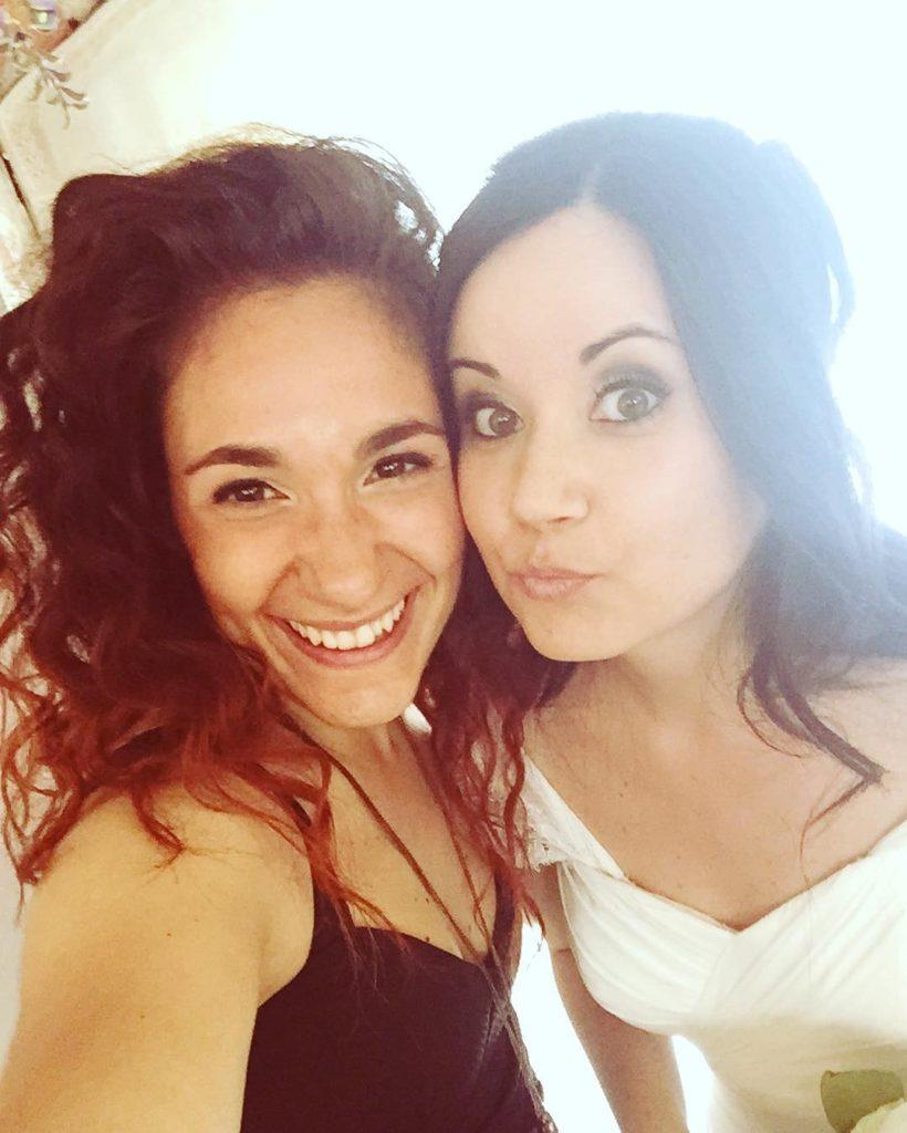 Selfie with the bride quanto ammore! weddingday bestcousins bride hothellip